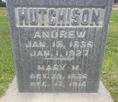 HUTCHISON, ANDREW - Los Angeles County, California | ANDREW HUTCHISON - California Gravestone Photos