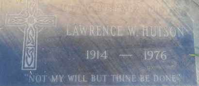 HUTSON, LAWRENCE - Los Angeles County, California | LAWRENCE HUTSON - California Gravestone Photos