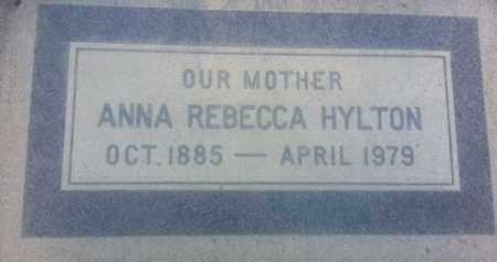 HYLTON, ANNA - Los Angeles County, California | ANNA HYLTON - California Gravestone Photos