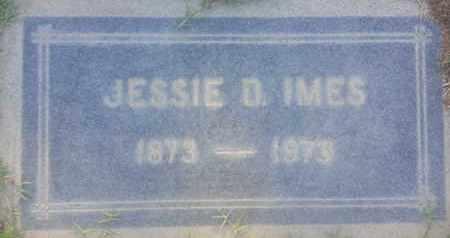 IMES, JESSIE - Los Angeles County, California | JESSIE IMES - California Gravestone Photos