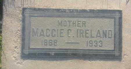 IRELAND, MAGGIE - Los Angeles County, California | MAGGIE IRELAND - California Gravestone Photos