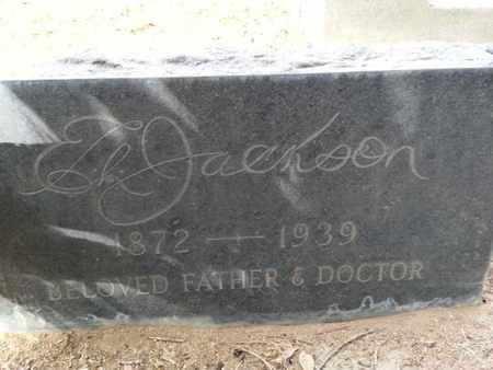 JACKSON, E. - Los Angeles County, California | E. JACKSON - California Gravestone Photos