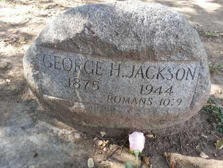 JACKSON, GEORGE H. - Los Angeles County, California | GEORGE H. JACKSON - California Gravestone Photos