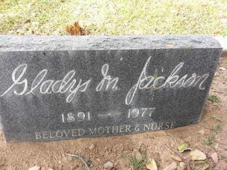 JACKSON, GLADYS - Los Angeles County, California | GLADYS JACKSON - California Gravestone Photos