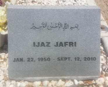 JAFRI, IJAZ - Los Angeles County, California | IJAZ JAFRI - California Gravestone Photos