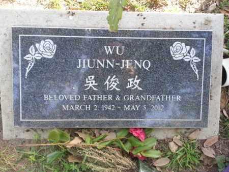 JIUNN-JENQ, WU - Los Angeles County, California | WU JIUNN-JENQ - California Gravestone Photos