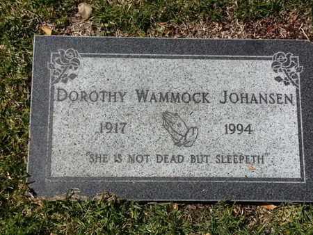 JOHANSEN, DOROTHY - Los Angeles County, California | DOROTHY JOHANSEN - California Gravestone Photos