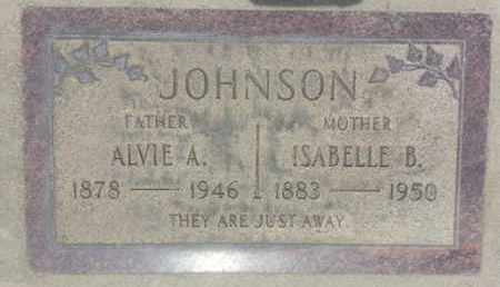 JOHNSON, ISABELLE - Los Angeles County, California | ISABELLE JOHNSON - California Gravestone Photos