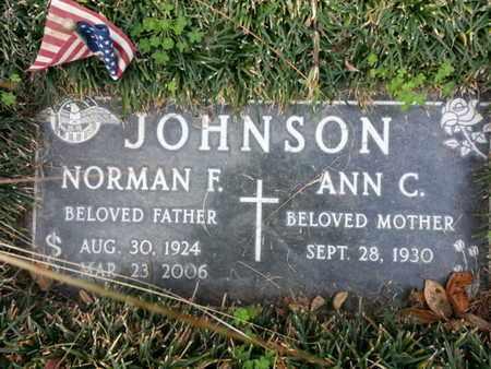 JOHNSON, NORMAN F. - Los Angeles County, California | NORMAN F. JOHNSON - California Gravestone Photos