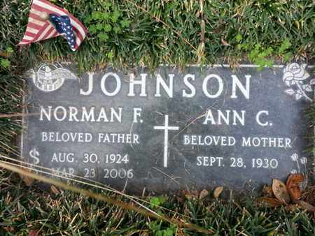 JOHNSON, ANN C. - Los Angeles County, California | ANN C. JOHNSON - California Gravestone Photos