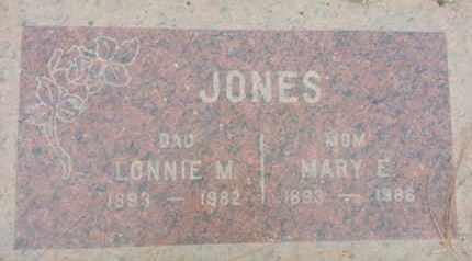 JONES, MARY - Los Angeles County, California   MARY JONES - California Gravestone Photos