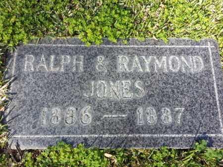 JONES, RALPH - Los Angeles County, California | RALPH JONES - California Gravestone Photos