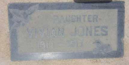 JONES, VIVIAN - Los Angeles County, California   VIVIAN JONES - California Gravestone Photos