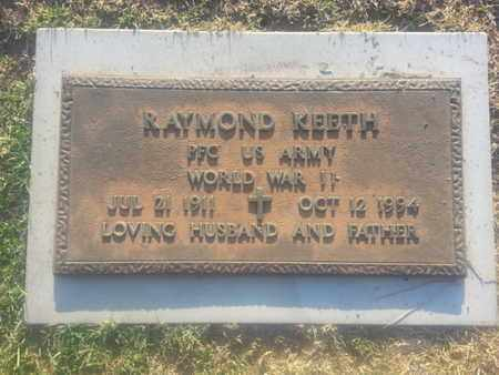 KEETH, RAYMOND - Los Angeles County, California   RAYMOND KEETH - California Gravestone Photos