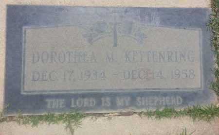 KEFFENRING, DOROTHEA - Los Angeles County, California   DOROTHEA KEFFENRING - California Gravestone Photos