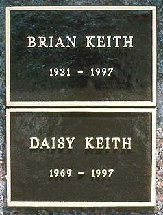 KEITH, BRIAN  (ACTOR) - Los Angeles County, California | BRIAN  (ACTOR) KEITH - California Gravestone Photos