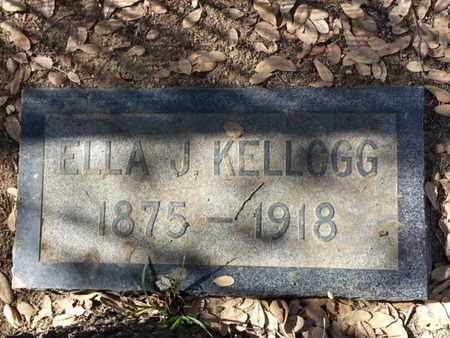 KELLOG, ELLA - Los Angeles County, California   ELLA KELLOG - California Gravestone Photos