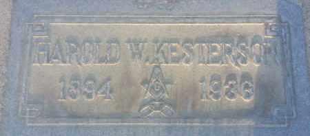 KESTERSON, HAROLD - Los Angeles County, California | HAROLD KESTERSON - California Gravestone Photos