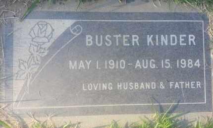 KINDER, BUSTER - Los Angeles County, California | BUSTER KINDER - California Gravestone Photos