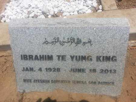KING, IBRAHIM - Los Angeles County, California | IBRAHIM KING - California Gravestone Photos