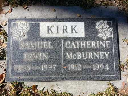 KIRK, SAMUEL - Los Angeles County, California | SAMUEL KIRK - California Gravestone Photos