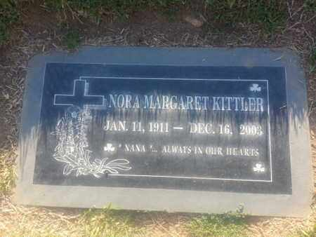KITTLER, NORA - Los Angeles County, California | NORA KITTLER - California Gravestone Photos