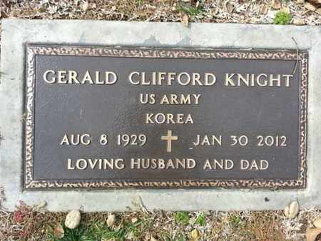 KNIGHT, GERALD C. - Los Angeles County, California | GERALD C. KNIGHT - California Gravestone Photos
