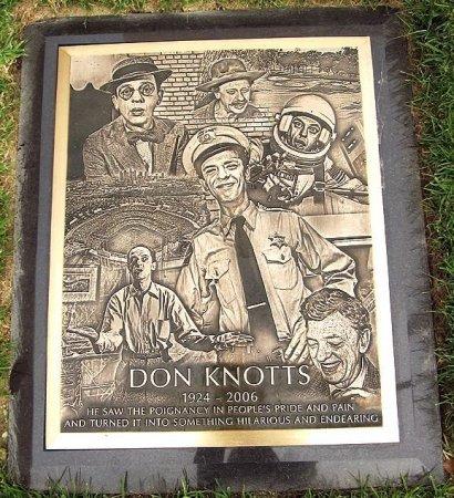 "KNOTTS, JESSE DONALD ""DON"" (ACTOR) - Los Angeles County, California   JESSE DONALD ""DON"" (ACTOR) KNOTTS - California Gravestone Photos"