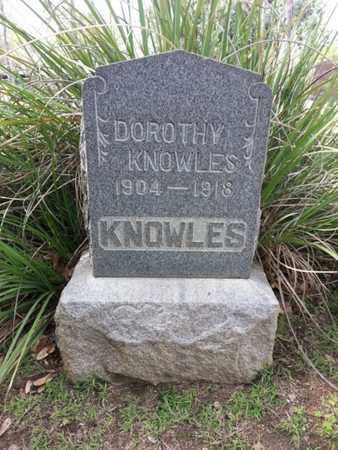KNOWLES, DOROTHY - Los Angeles County, California | DOROTHY KNOWLES - California Gravestone Photos