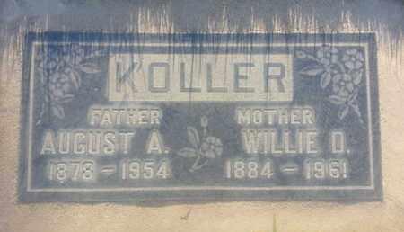 KOLLER, AUGUST - Los Angeles County, California | AUGUST KOLLER - California Gravestone Photos