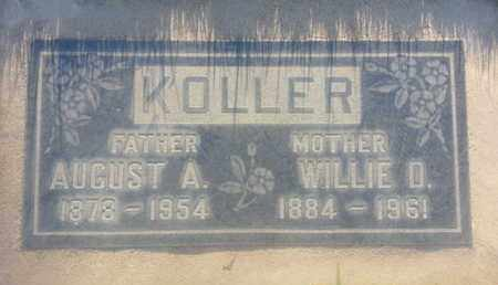 KOLLER, WILLIE - Los Angeles County, California | WILLIE KOLLER - California Gravestone Photos