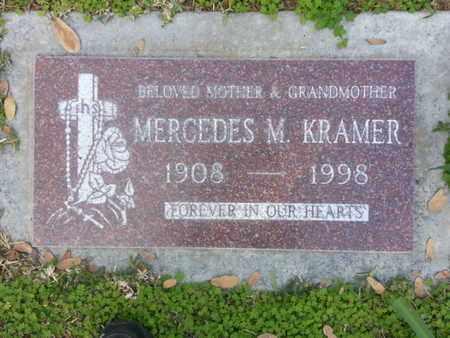 KRAMER, MERCEDES M. - Los Angeles County, California   MERCEDES M. KRAMER - California Gravestone Photos