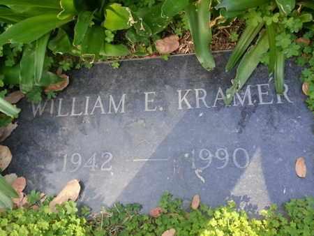 KRAMER, WILLIAM E. - Los Angeles County, California   WILLIAM E. KRAMER - California Gravestone Photos
