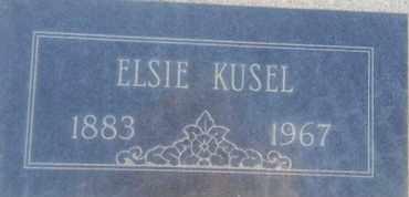 KUSEL, ELSIE - Los Angeles County, California | ELSIE KUSEL - California Gravestone Photos