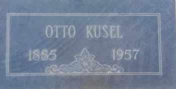 KUSEL, OTTO - Los Angeles County, California | OTTO KUSEL - California Gravestone Photos