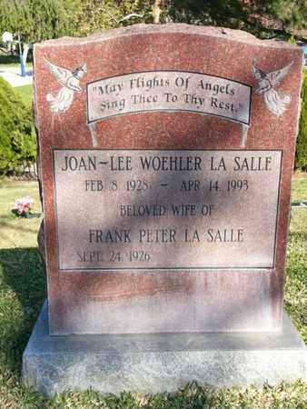 LA SALLE, FRANK PETER - Los Angeles County, California | FRANK PETER LA SALLE - California Gravestone Photos