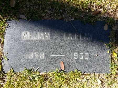 LAIDLAW, WILLIAM - Los Angeles County, California | WILLIAM LAIDLAW - California Gravestone Photos
