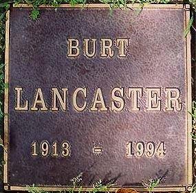 LANCASTER, BURT  (ACTOR) - Los Angeles County, California | BURT  (ACTOR) LANCASTER - California Gravestone Photos
