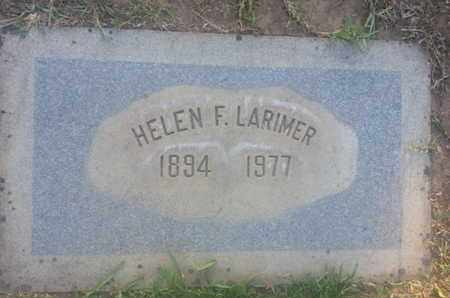 LARIMER, HELEN - Los Angeles County, California | HELEN LARIMER - California Gravestone Photos