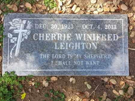 LEIGHTON, CHERRIE - Los Angeles County, California   CHERRIE LEIGHTON - California Gravestone Photos