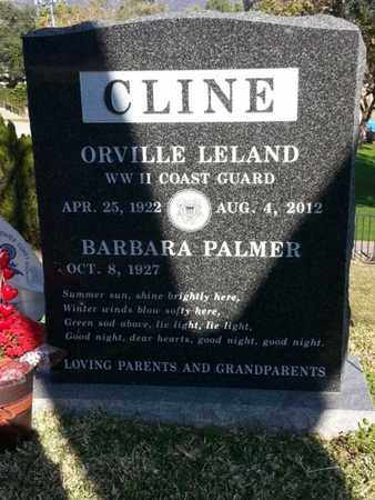 CLINE, ORVILLE LELAND - Los Angeles County, California | ORVILLE LELAND CLINE - California Gravestone Photos