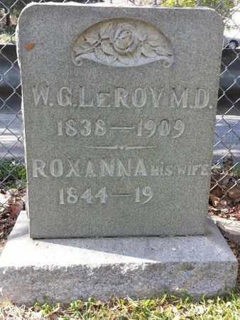 LEROY, W.G. - Los Angeles County, California | W.G. LEROY - California Gravestone Photos