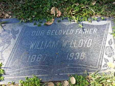 LLOYD, WILLIAM W. - Los Angeles County, California | WILLIAM W. LLOYD - California Gravestone Photos