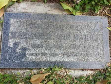 MARICH, MARGARET A. - Los Angeles County, California | MARGARET A. MARICH - California Gravestone Photos