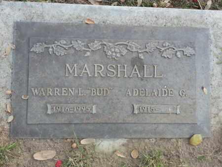 MARSHALL, WARREN L. - Los Angeles County, California | WARREN L. MARSHALL - California Gravestone Photos