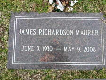 MAURER, JAMES RICHARDSON - Los Angeles County, California | JAMES RICHARDSON MAURER - California Gravestone Photos