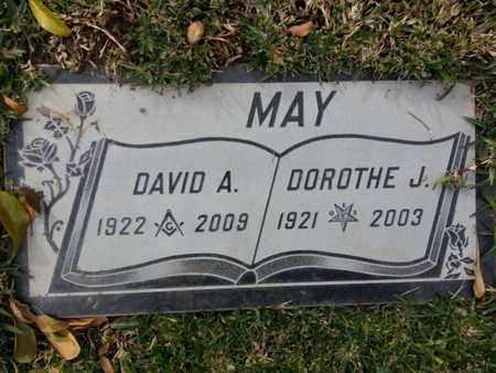 MAY, DAVID A. - Los Angeles County, California | DAVID A. MAY - California Gravestone Photos