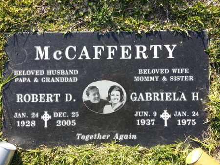 MCCAFFERTY, GABRIELA H. - Los Angeles County, California | GABRIELA H. MCCAFFERTY - California Gravestone Photos