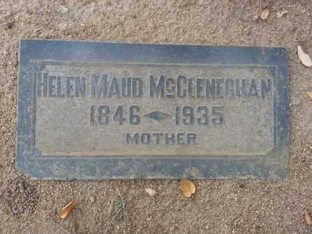MCCLENEGHAM, HELEN MAUD - Los Angeles County, California | HELEN MAUD MCCLENEGHAM - California Gravestone Photos