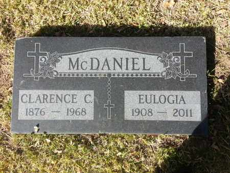 MCDANIEL, CLARENCE C. - Los Angeles County, California | CLARENCE C. MCDANIEL - California Gravestone Photos
